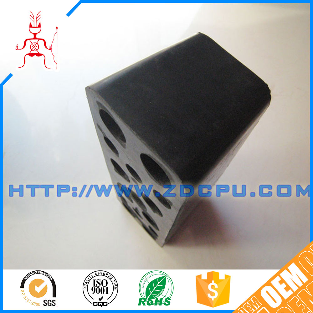 Injection moulding wear resistant exhaust rubber mounts engine