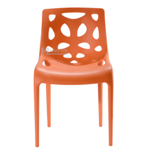 2016 new Italian design dining room or outdoor stackable hero plastic armless chair