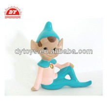 ICTI certificated custom make mini plastic christmas elf figurines