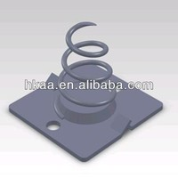 single electrochemical cell battery spring for Minus Poles made in China,metal stamping battery springs contact