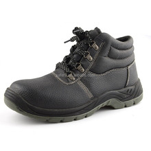 High quality buffalo leather steel toe workman's safety shoes with CE EN20345