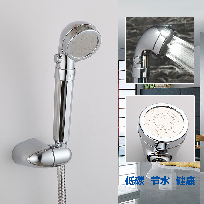 C-258 CIXI Qianyao ABS rotating rod anion functional magnetic shower head