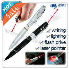 customized laser logo usb pen laser pointer logo pen
