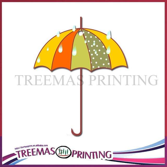 2012 Hot sale fragrant colorful umbrella paper car air freshener