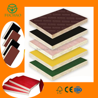 Outdoor used film faced plywood /shuttering plywood for construction