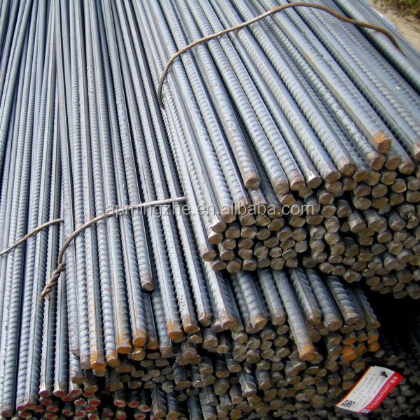 Steel Rebar/ Deformed Steel Bar/Iron Rods For Construction Concrete