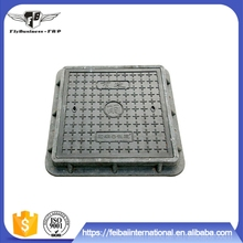 Factory supply glass fiber reinforced plastic with glass fiber square manhole cover dimensions