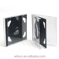 10.4mm s double black jewel CD case