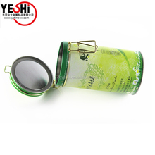 Popular Air-tight Round Tea Cans Coffee Tin Boxes Packing