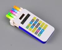5 in 1 gift calculator highlighter marker pen cell phone