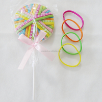 beautiful colorful candy woman hair accessory