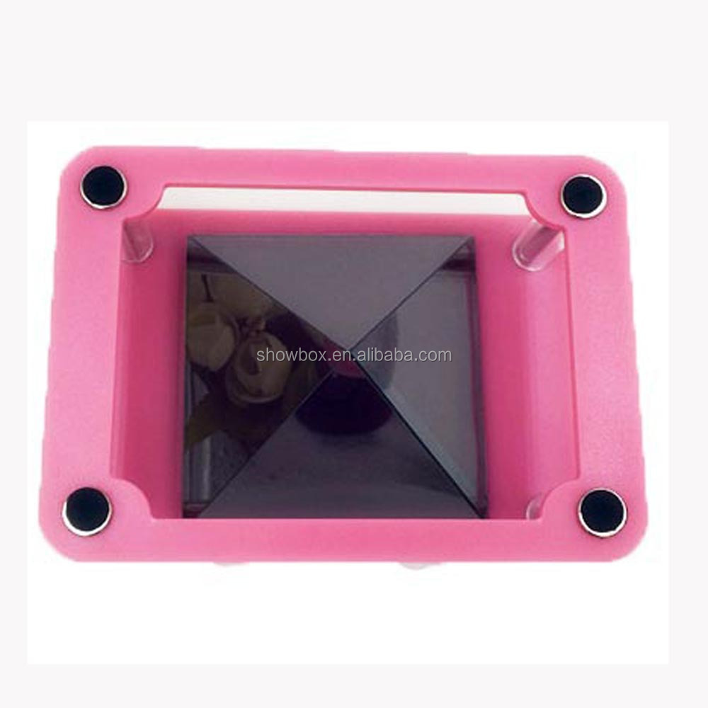 2017 new models 3D Hologram Display Smartphone 3D holographic projector,Mini Pyramid Hologram for