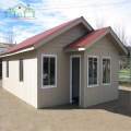 PVC board EPS fiber cement prefab small cabin house