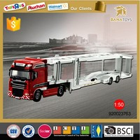 1:50 Miniature truck model transportation toy truck for children