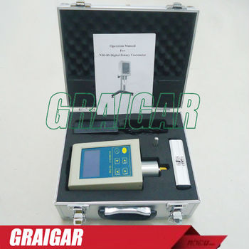 NDJ-8S Digital display Rotary viscometer high precision authentic