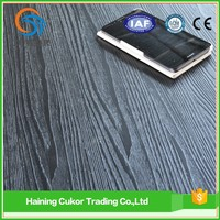 self adhesive blue grey laminate wood grain pvc flooring