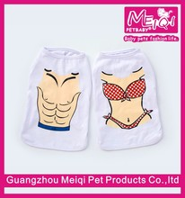 Funny beach party dog clothes pet bikini for small pet Wholesale
