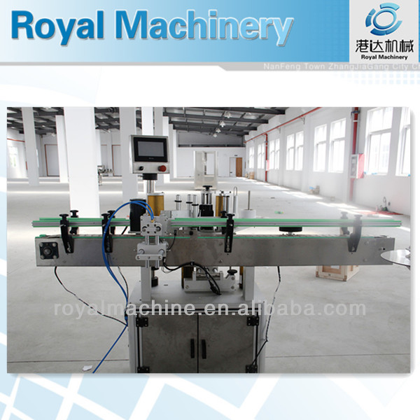 3000-4000bph one side sticker labeling machine