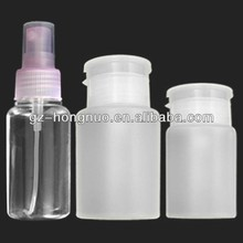 2 pcs Pump Dispenser & 1 pcs Spray Bottle Nail Art Acrylic Acetone Remover HN1749