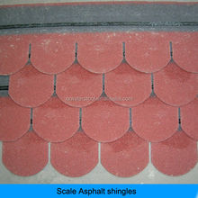 fish scale round asphalt shingle sale
