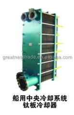 Diesel engine radiator types of heat exchanger for marine and industry equipment