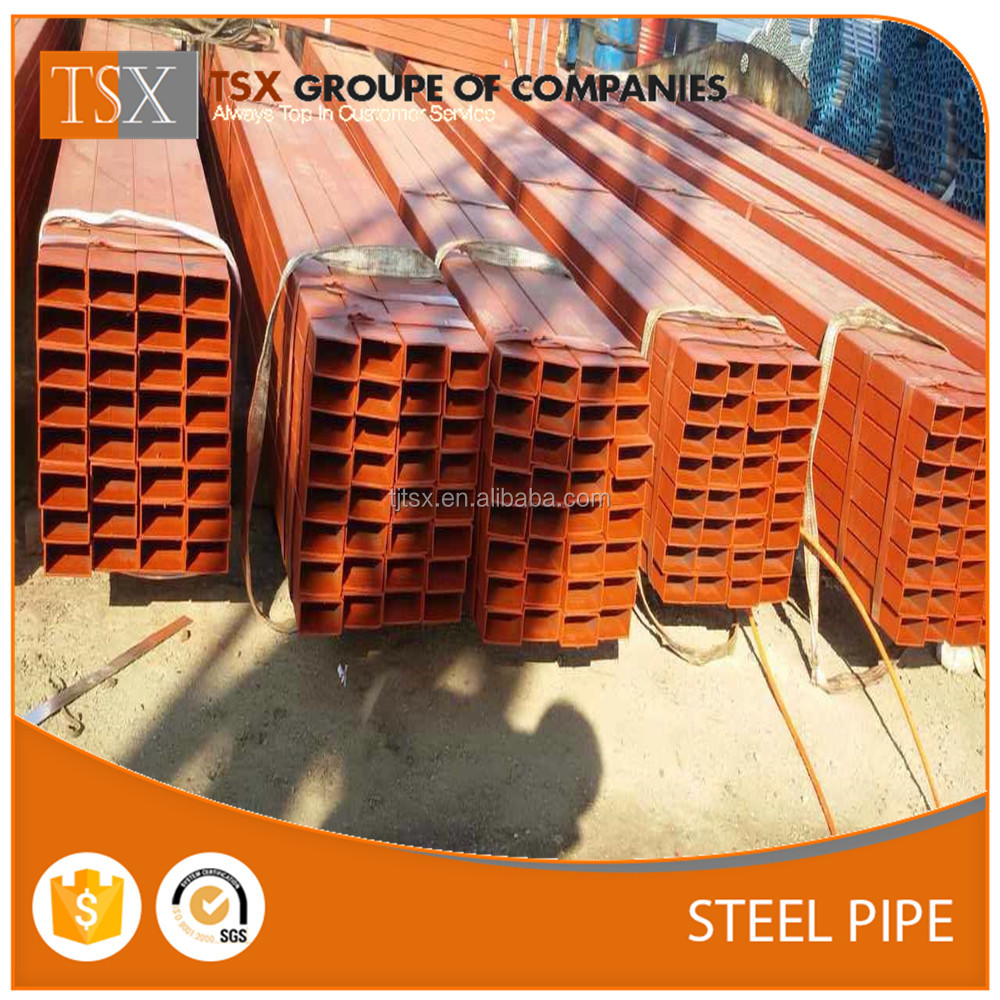 TSX-1609014 Mild Steel Hot Rolled Square Hollow Section with ASTM A500 Standard