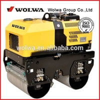 GNYL301c remote control vibrating double drum road roller with double drum 1ton