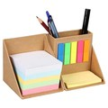 Custom Printing Cube Box Sticky Memo Note with Storage Compartment