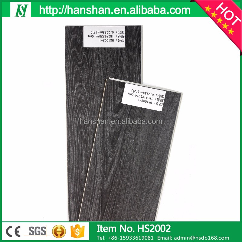 Indoor anti-slip 9mm vinyl flooring <strong>oak</strong> floor tiles standard size