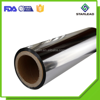 Vacuum Metalization Thermal Lamination Metalized PET Film From Wenzhou