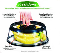 Microwaveable Press & Fresh Food Cover Jumbo / everyday vacuum food sealer /daily houseware items