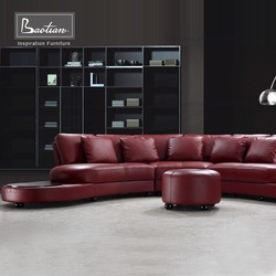 Genuine leather high quality sofa modern design sectional leather sofa