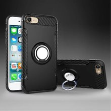 Car Holder Magnetic Metal Ring Phone Case For i phone7,For i phone 7 Case,For i phone7 Case