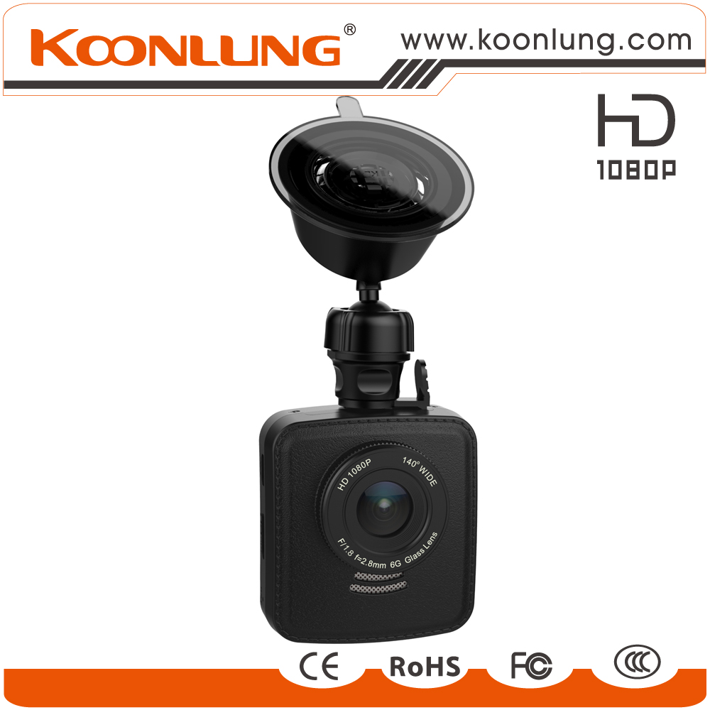 Wide dynamic GPS, g-sensor,back up car black box 1080P full HD car dvr