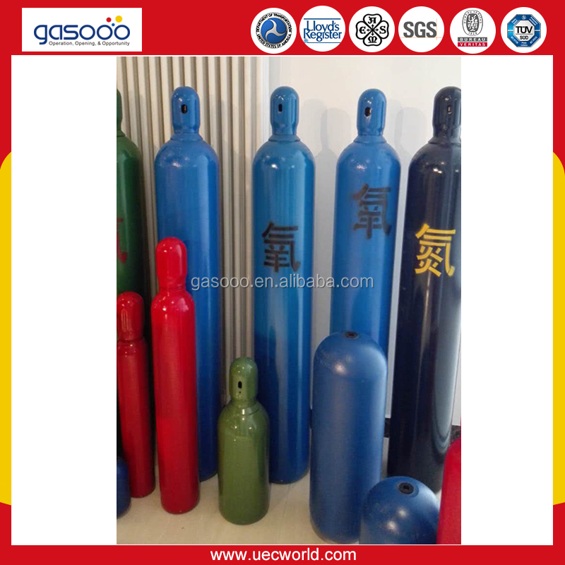 DOT 3AA 48.8L Industrial Oxygen Cylinder For Sale