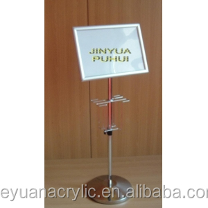 Acrylic Menu Holder, Acrylic Label Holders, Acrylic Sign Holder 701235