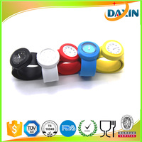 Dongguan Cheap OEM Slap Silicone Strap Cartoon Kid Quartz Silicone Wrist Watch