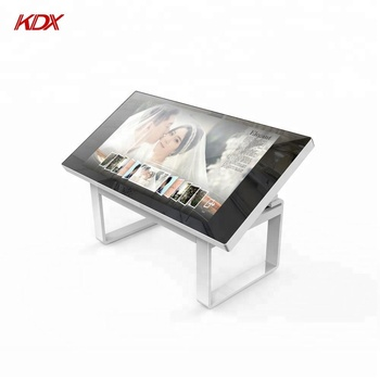 Industrial interactive touch table android capacitive multi touch screen table display