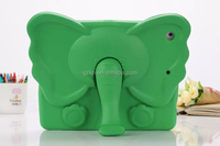 Smart 3D animal ECO friendly EVA washable kids case cover for iPad Mini 8 inch with stable stand