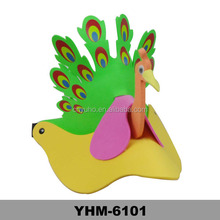 EVA Animal peacock party hat Cartoon Cap for performance, party and birthday, Hallowmas
