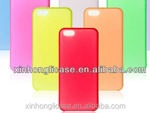 Cell Phone Cases 0.33mm Ultrathin Matte Frosted Case Hard Semitransparent Cases Plastic PP Material Cov