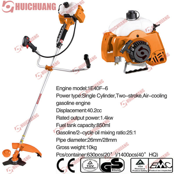 cg 430 brush cutter with petrol engine