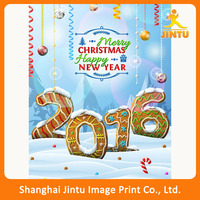 2016 Poster Hanging Banner with Soft Fabric material printing