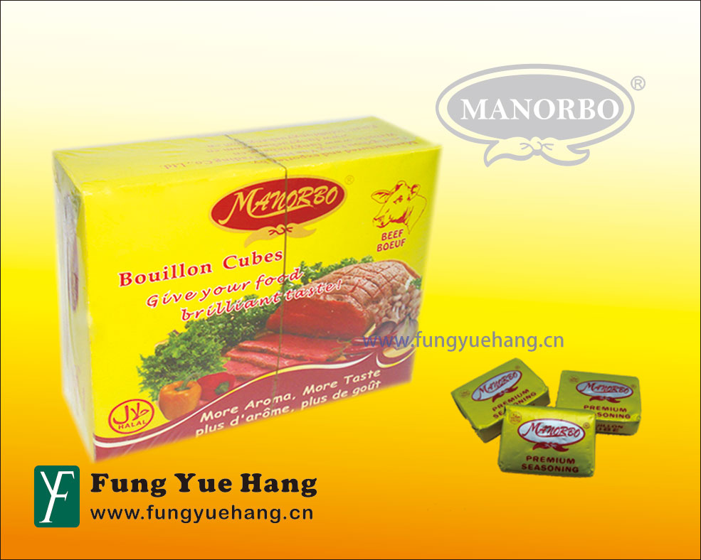 10g Beef Seasoning Cube Bouillon Cubes Brands