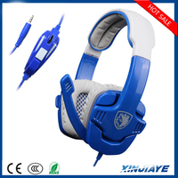 Gaming headset Sound Stereo with mic and line remote for Xbox one/PS4/360