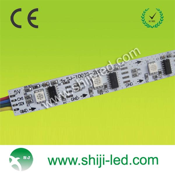 waterproof adressable ws2801 led rigid bar program
