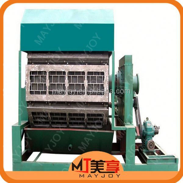 Professional Waste Paper Recycling pulp egg tray moulding machine for hot sale From Zhengzhou Mayjoy