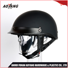 Custom Design Low Profile DOT Mortocycle Half Face Helmet