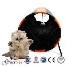 Hot selling pet products cat tunnel stocked kitty tunnel