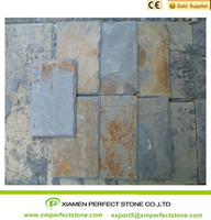 Low price yellow slate tile roof tile